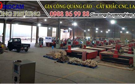Cắt CNC giá rẻ trên mọi chất liệu tại Hà Nội, Hưng Yên