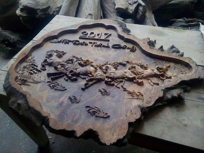 Nhận gia công gỗ CNC, đục tượng gỗ bằng máy-1