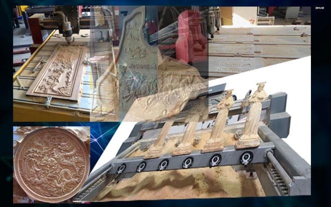 Nhận gia công gỗ, điêu khắc gỗ tại Hưng Yên