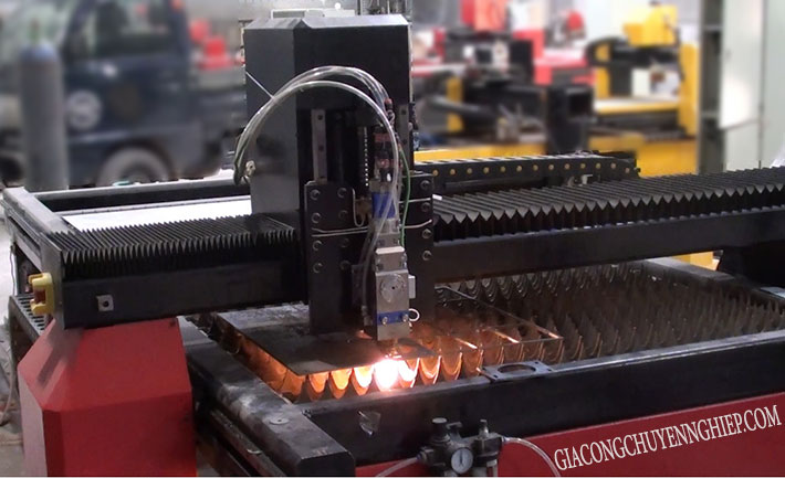Cắt inox bằng laser theo yêu cầu
