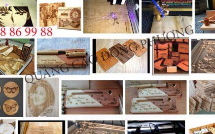 Những cái nhìn khái quát về nghệ thuật khắc laser trên gỗ