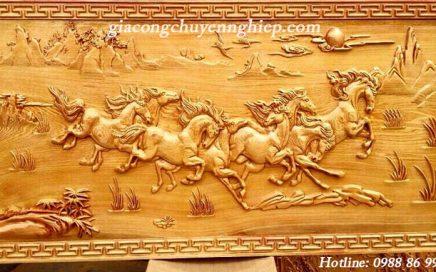 Biến hóa một khúc gỗ thành một bức tranh gỗ đẹp