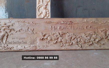 Địa chỉ khắc tranh gỗ CNC đẹp giá rẻ nhất tại Hà Nội - 1