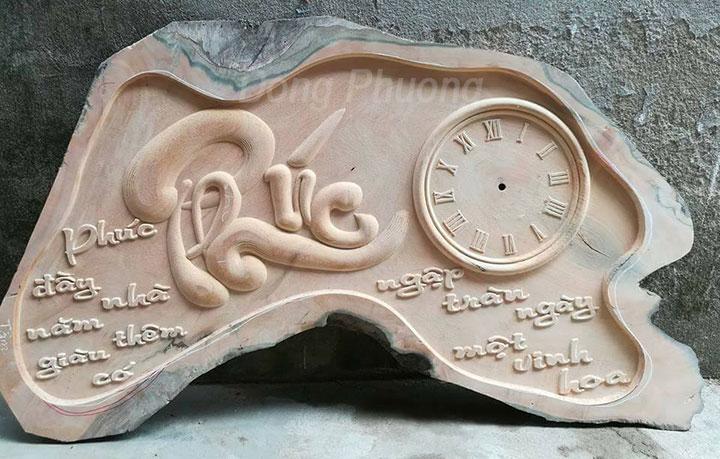 Gia công chạm khắc gỗ bằng máy cnc giá rẻ - làm theo yêu cầu 1