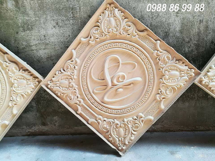 Gia công chạm khắc gỗ bằng máy cnc giá rẻ - làm theo yêu cầu 2