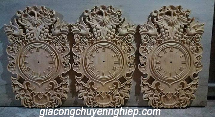 Gia công chạm khắc gỗ bằng máy cnc giá rẻ - làm theo yêu cầu 4