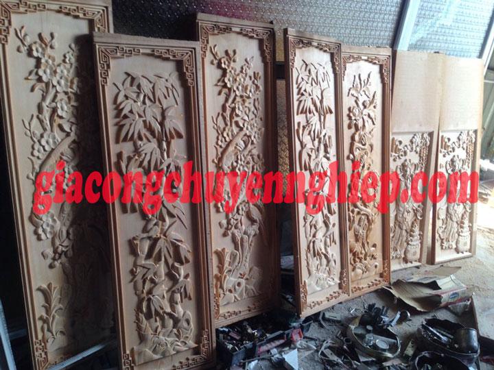 Gia công chạm khắc gỗ uy tín - chất lượng hàng đầu tại Biên Hòa 1