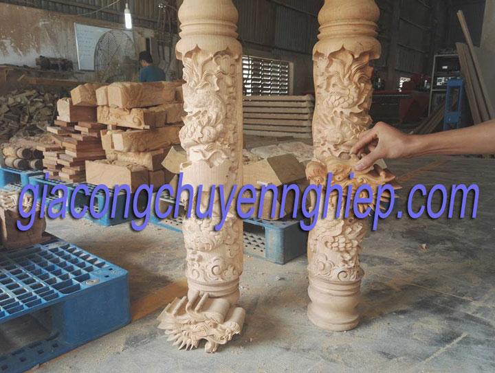 Gia công chạm khắc gỗ uy tín - chất lượng hàng đầu tại Biên Hòa 2