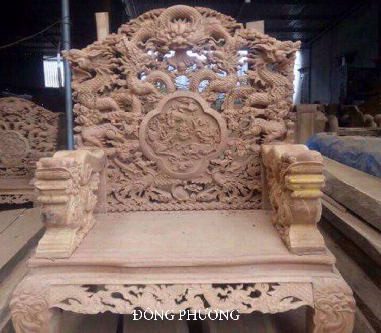 Bàn ghế gỗ 04