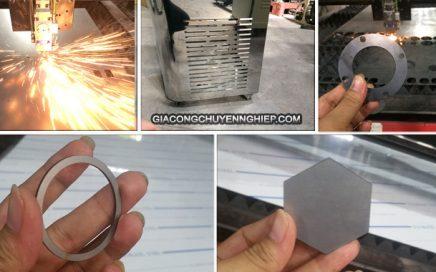 Gia công cắt laser trên kim loại giá rẻ - Làm theo yêu cầu
