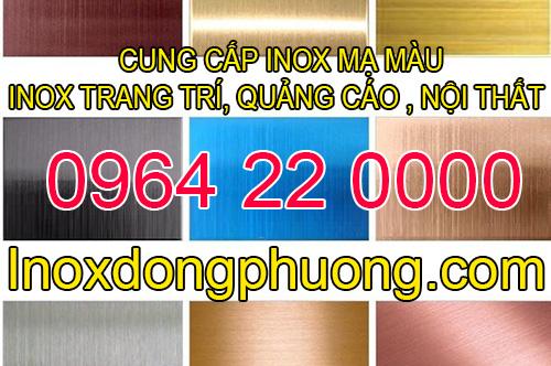 Thông tin liên hệ mua inox tấm