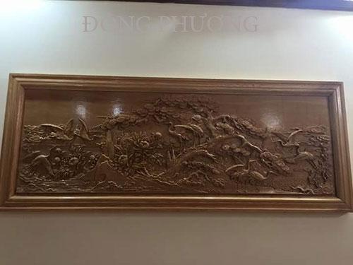 Tranh điêu khắc gỗ 005