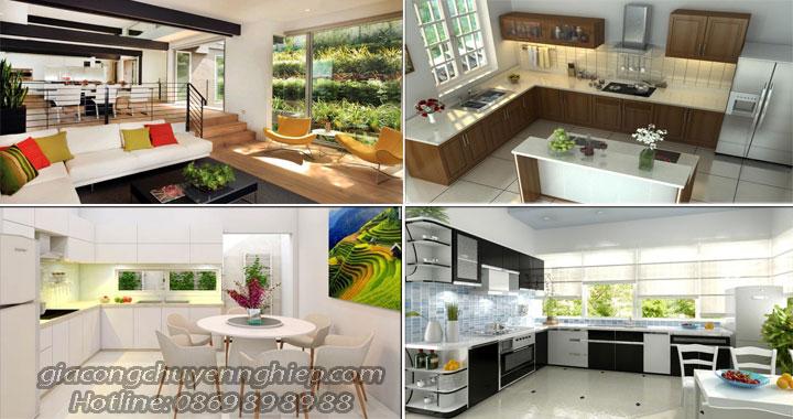 Các mẫu tủ bếp đẹp phù hợp nhiều kiểu nhà khác nhau