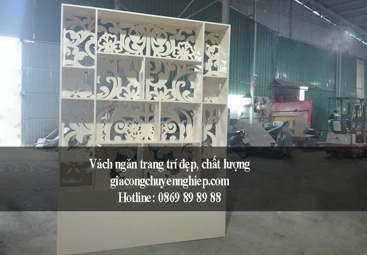 Nhận gia công vách ngăn trang trí giá rẻ - chất lượng tại Hà Nội 6