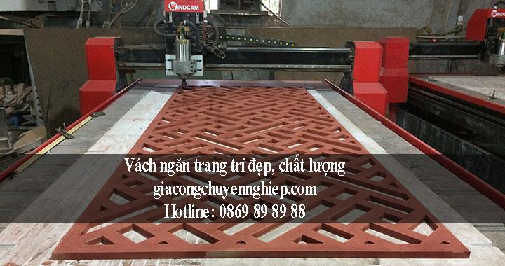 Nhận gia công vách ngăn trang trí giá rẻ - chất lượng tại Hà Nội 2