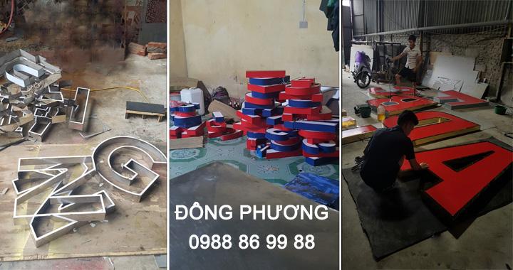 Nhận làm biển công ty giá rẻ, chất lượng tại Hà Nội 1