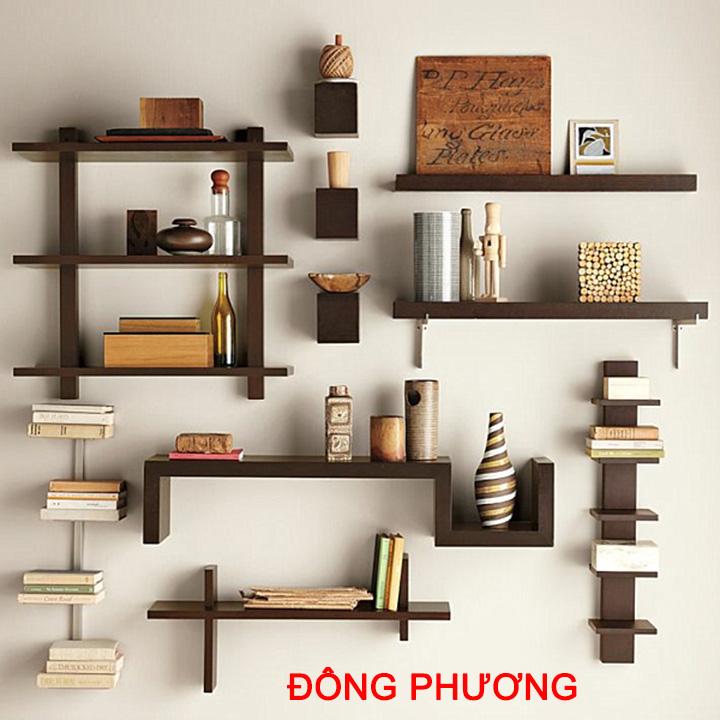 Nhận thiết kế, thi công kệ trang trí, kệ sách, kệ gỗ treo tường giá rẻ 1