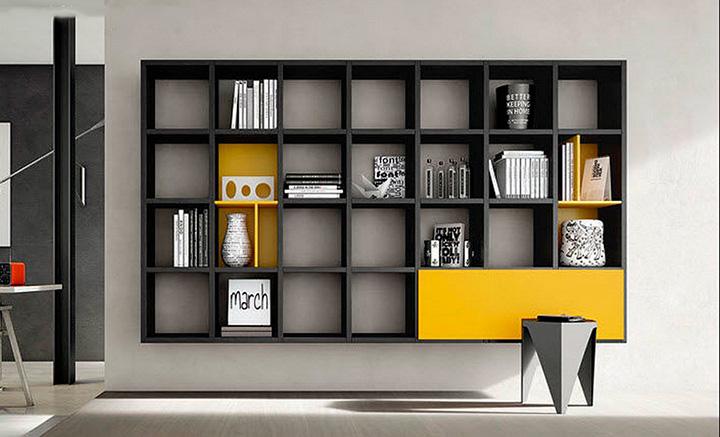 Nhận thiết kế, thi công kệ trang trí, kệ sách, kệ gỗ treo tường giá rẻ 7
