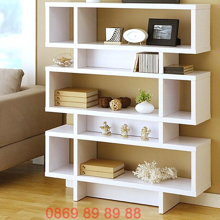 Nhận thiết kế, thi công kệ trang trí, kệ sách, kệ gỗ treo tường giá rẻ 9