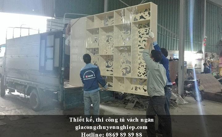 Nhận thiết kế, thi công tủ vách ngăn đẹp, chất lượng tại Hưng Yên 5