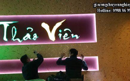 Top 3 loại biển quảng cáo được sử dụng nhiều nhất của các nhà hàng
