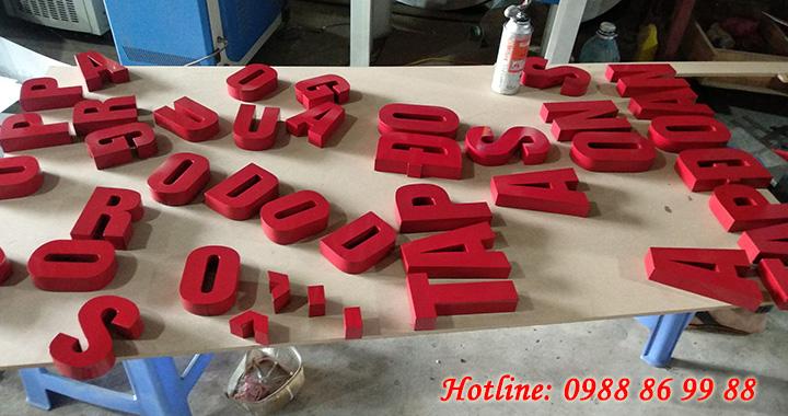 Gia công chữ inox vàng, chữ inox trắng, chữ nổi inox giá rẻ - chất lượng 1