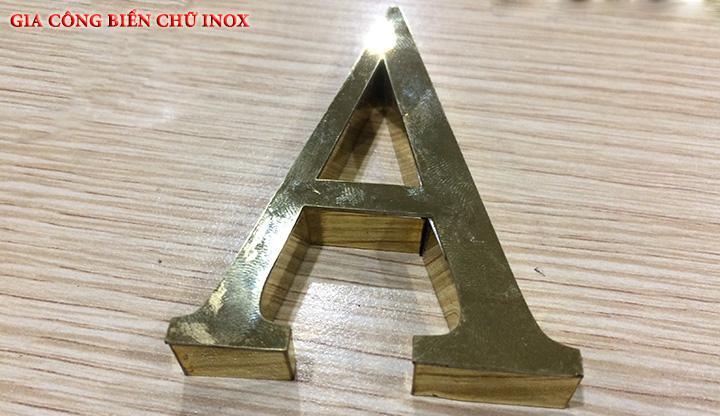 Gia công chữ inox vàng, chữ inox trắng, chữ nổi inox giá rẻ - chất lượng 4