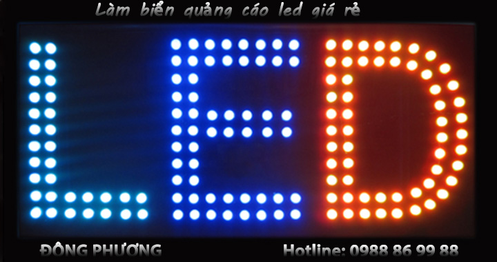 Làm biển quảng cáo led giá rẻ tại Hà Nội, Hưng Yên 4