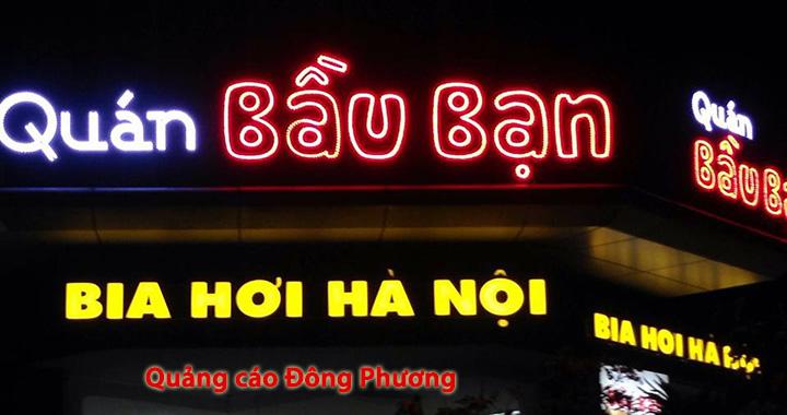 Làm biển quảng cáo led giá rẻ tại Hà Nội, Hưng Yên