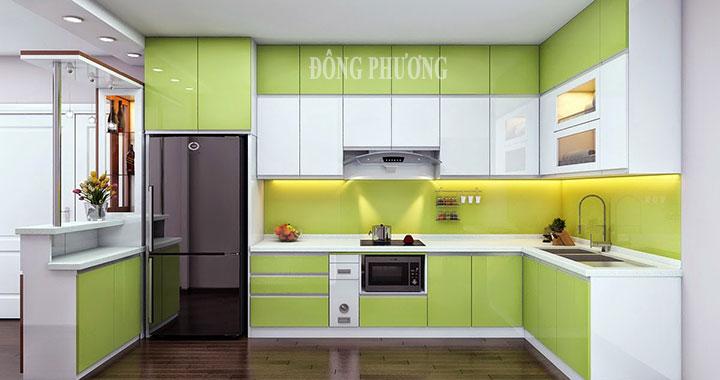 Một số mẫu tủ bếp đẹp cho chung cư mini bạn không nên bỏ qua