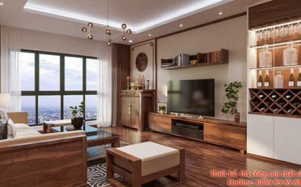 Cách trang trí nội thất chung cư tạo cảm giác sang trọng, thông thoáng