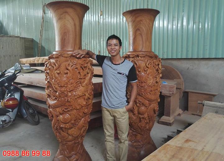 Địa chỉ gia công đục gỗ, khắc gỗ bằng máy cnc uy tín, giá rẻ tại miền Bắc 1