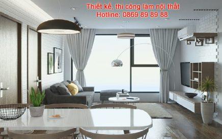 Gợi ý trang trí nội thất chung cư 2 phòng ngủ theo phong cách hiện đại