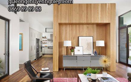 Nhận làm VÁCH NGĂN phòng khách giá rẻ, chất lượng cao6