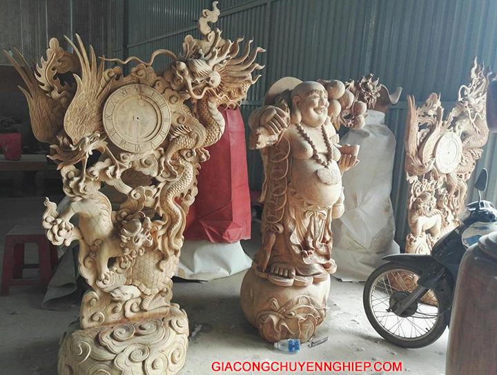 Những sản phẩm đồ gỗ trang trí phòng khách đẹp, giá rẻ 2