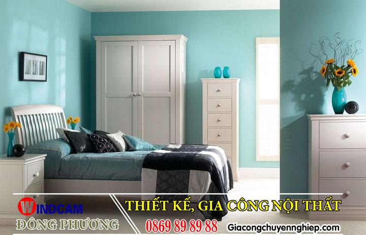 6 Nội thất phòng ngủ, giường gỗ, bàn ghế, tủ gỗ giá rẻ - 0869 89 89 88