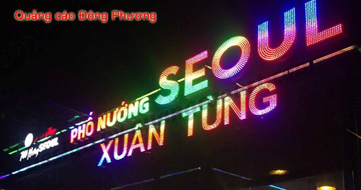 Xưởng gia công làm bảng hiệu đèn led giá rẻ, chất lượng tại Hưng Yên 1