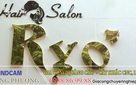 Mẫu biển quảng cáo tiệm tóc,salon tóc đẹp 6