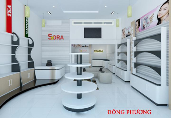 Địa chỉ thiết kế, làm kệ trưng bày sản phẩm mẫu đẹp, giá rẻ tại Hà Nội 3