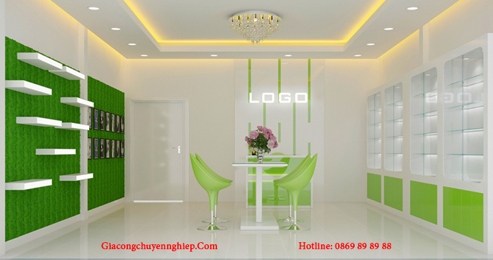 Địa chỉ thiết kế, làm kệ trưng bày sản phẩm mẫu đẹp, giá rẻ tại Hà Nội