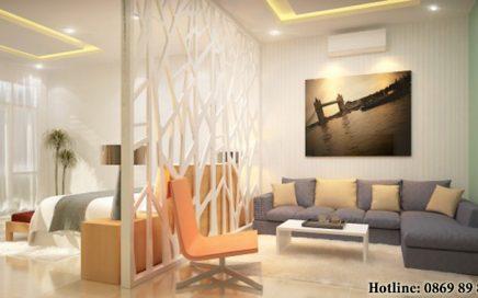 Mẫu vách ngăn phòng khách và phòng ngủ đẹp, giá rẻ không nên bỏ qua