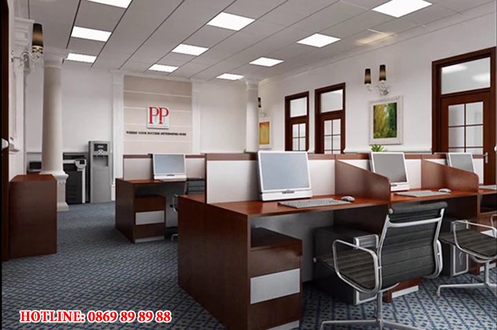 Mẫu nội thất văn phòng đẹp - Địa chỉ làm nội thất văn phòng tại Hà Nội 1