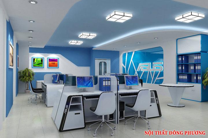 Mẫu nội thất văn phòng đẹp - Địa chỉ làm nội thất văn phòng tại Hà Nội 2