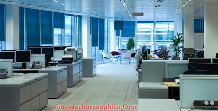 Mẫu nội thất văn phòng đẹp - Địa chỉ làm nội thất văn phòng tại Hà Nội 3