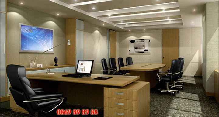 Mẫu nội thất văn phòng đẹp - Địa chỉ làm nội thất văn phòng tại Hà Nội 5