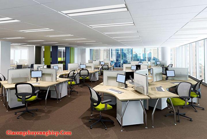 Mẫu nội thất văn phòng đẹp - Địa chỉ làm nội thất văn phòng tại Hà Nội 6