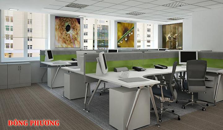 Mẫu nội thất văn phòng đẹp - Địa chỉ làm nội thất văn phòng tại Hà Nội 7