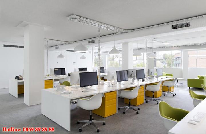 Mẫu nội thất văn phòng đẹp - Địa chỉ làm nội thất văn phòng tại Hà Nội 9