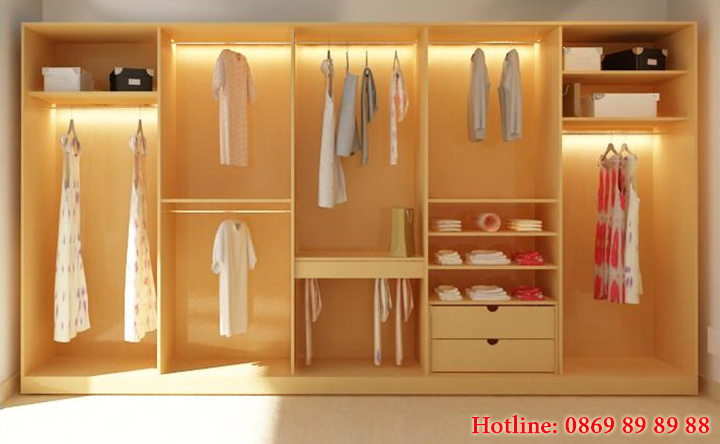 Xưởng nhận gia công trực tiếp tủ quần áo gỗ giá rẻ, theo yêu cầu ở Hà Nội 3