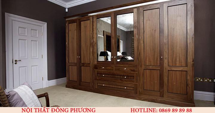 Xưởng nhận gia công trực tiếp tủ quần áo gỗ giá rẻ, theo yêu cầu ở Hà Nội 4